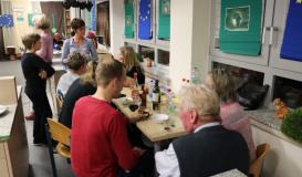 November 2017 Küchenparty Roding. Motto Europa trifft Afrika (Bild: Multikulti Verein)