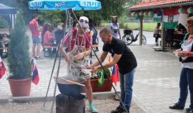 Juli 2018 Open-Air Cooking. Ungarische Küche (Bild: Multikulti Verein)