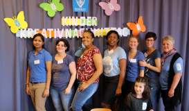 Mai 2017 Kinderkreativnachmittag - Betreuerteam (Bild: Multikulti Verein)