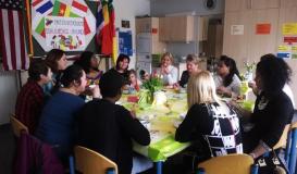 März 2016 Startschuss des Woman's Day in Roding (Bil: Multikulti Verein)