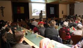 Februar 2018 Max Semmler berichtet von seinem lehrreichen Jahr als freiwilliger Dienst in Obala, Kamerun (Bild: Multikulti Verein)