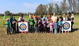 September 2017 Kinderfest mit Unterlintacher Bogenschützern am Esper Roding (Bild: Multikulti Verein)