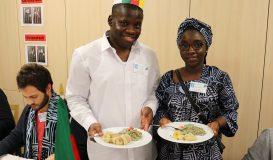 Ndolä-Miondo-Gericht aus Kamerun